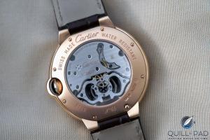 126f8d935d81 Detrás del Replicas Relojes Cartier Ballon Bleu Tourbillon