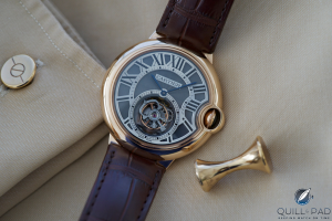 Replicas Relojes Cartier Ballon Bleu Tourbillon