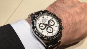 Rare y muy deseable Replicas de Relojes Rolex Daytona en acero inoxidable