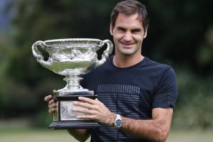 El éxito continuo de Roger Federer juega un papel importante en la imagen de Replicas de Relojes Rolex